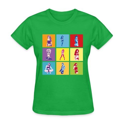 Pinup Pop - Women's T-Shirt