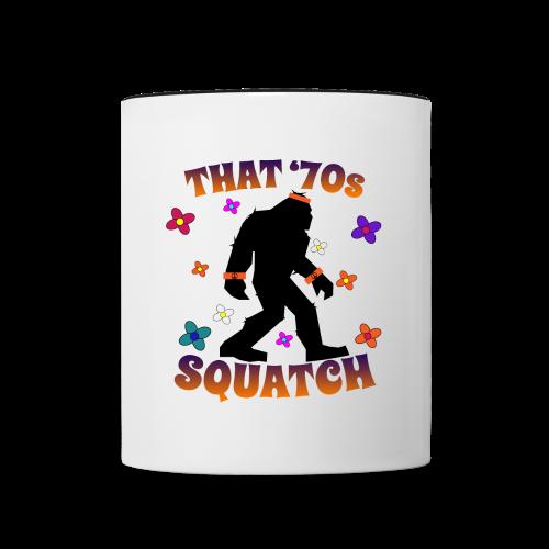 That 70s Squatch Mug - Contrast Coffee Mug