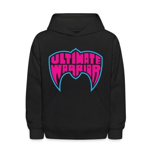 Ultimate Warrior Classic Logo Kids Hoodie - Kids' Hoodie