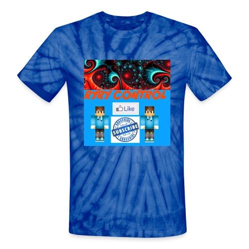 ryry control spiral tee - Unisex Tie Dye T-Shirt