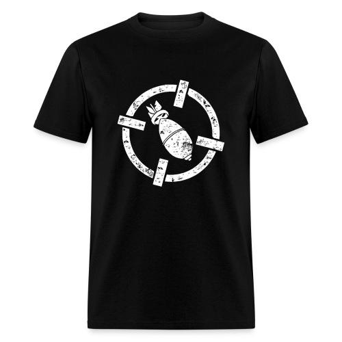 Bomber Strike Logo Men T-Shirt - Men's T-Shirt