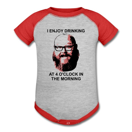 Dr. Sloppy Drinks at 4AM - Baby Contrast One Piece