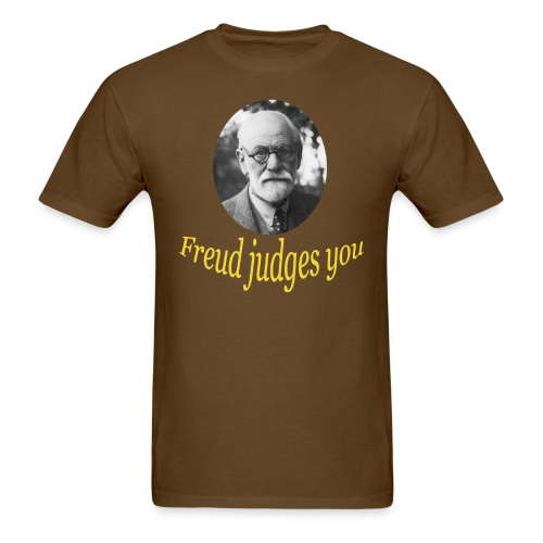 Freud judges you - Mens T - Men's T-Shirt