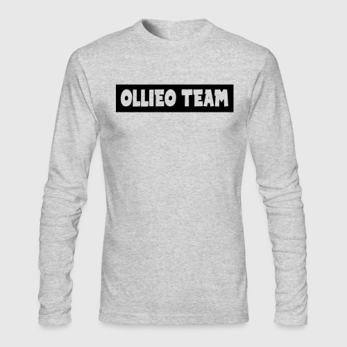 Mens OllieOTeam Long Sleeve - Men's Long Sleeve T-Shirt by Next Level