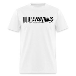Hip Hop Everything T (Black logo) Now $19.49 - Men's T-Shirt