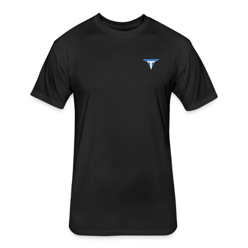 Fitted Cotton Ploy TMP T-Shirt - Fitted Cotton/Poly T-Shirt by Next Level