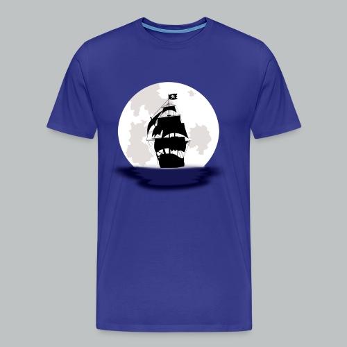 Pirate Ship - Men's - Men's Premium T-Shirt