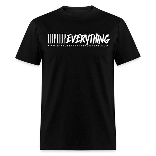 Hip Hop Everything T (White logo) Now $19.49 - Men's T-Shirt