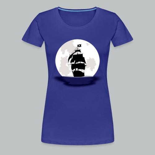Pirate Ship - Women's - Women's Premium T-Shirt