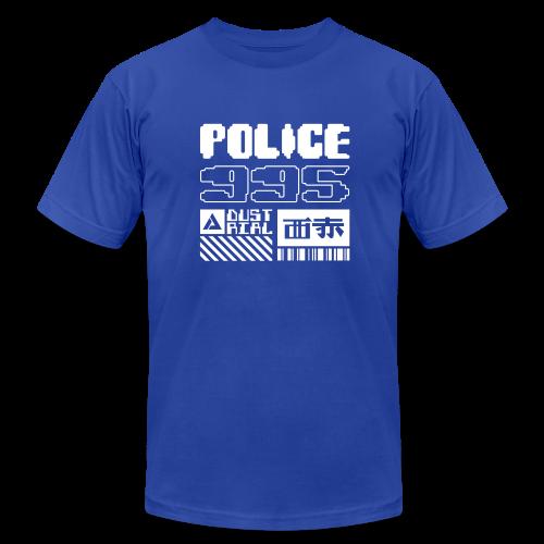 2019 SPINNER BLUE T-SHIRT - Men's Fine Jersey T-Shirt