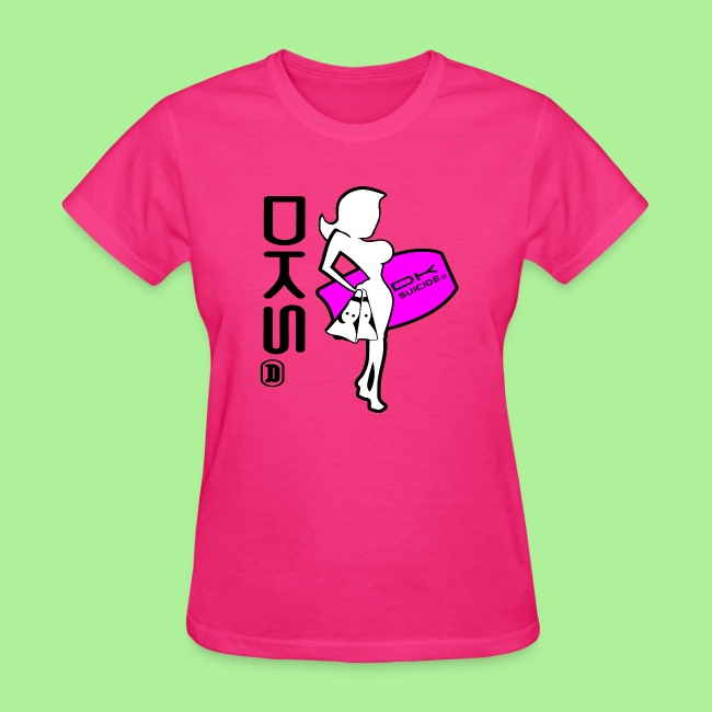 DKS Surf Girl T-shirt Womens