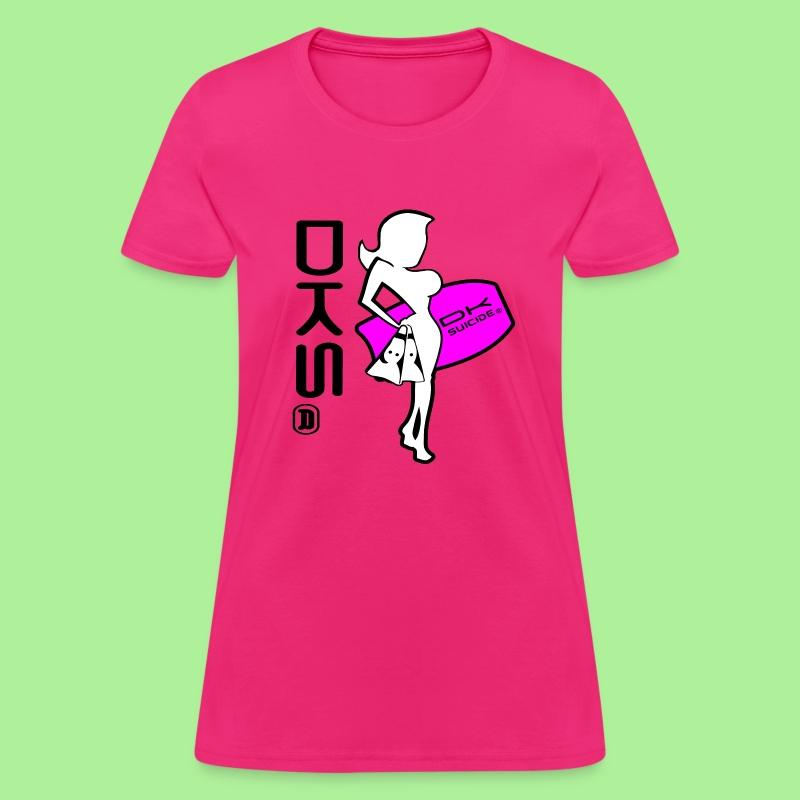 DKS Surf Girl T-shirt Womens - Women's T-Shirt