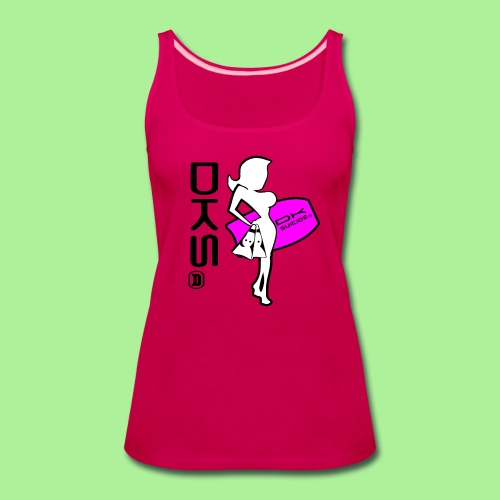 DKS Surf Girl Tank-top Womens - Women's Premium Tank Top
