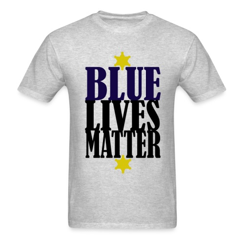 Blue Lives Matter Shirt - Men's T-Shirt