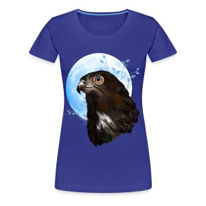 Black-chested snake eagle  - Women's Premium T-Shirt