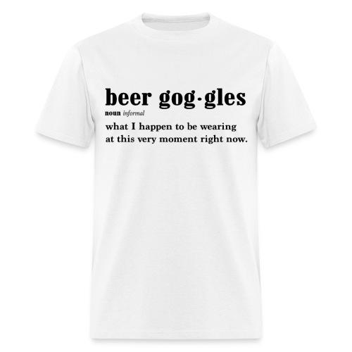 Beer Goggles - Men's T-Shirt