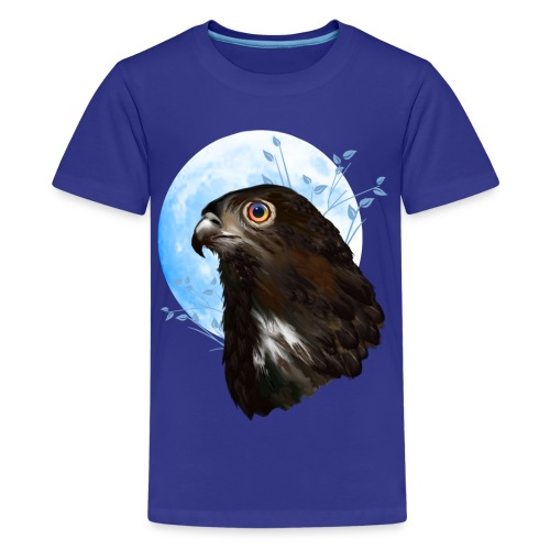 Black-chested snake eagle  - Kids' Premium T-Shirt