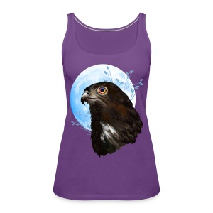 Black-chested snake eagle  - Women's Premium Tank Top