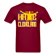 T-Shirts ~ Men's T-Shirt ~ Take the Hate out of Cleveland