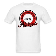 T-Shirts ~ Men's T-Shirt ~ Take the Hate out of Alabama