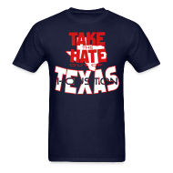 T-Shirts ~ Men's T-Shirt ~ Take the Hate out of Houston