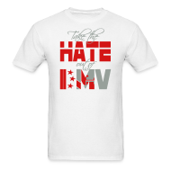 T-Shirts ~ Men's T-Shirt ~ Take the Hate out of DMV