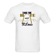 T-Shirts ~ Men's T-Shirt ~ Take the Hate out of St.Louis