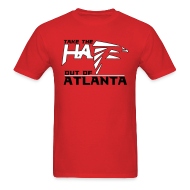 T-Shirts ~ Men's T-Shirt ~ Take the Hate out of Atlanta
