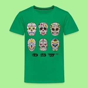 OSW Skulls T-shirt Mens - Toddler Premium T-Shirt
