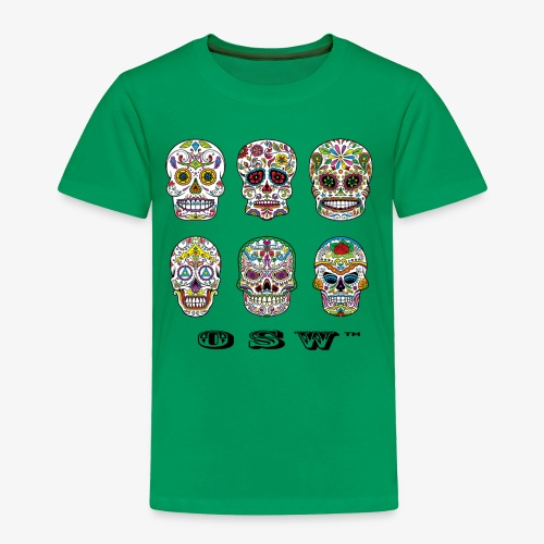 OSW | Skulls T-shirt Mens - Toddler Premium T-Shirt
