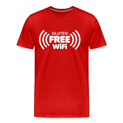 Gluten Free Wifi - Men's Premium T-Shirt