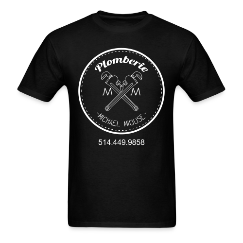 Plomberie Michael Miouse - Men's T-Shirt