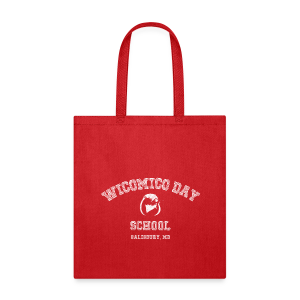 WDS Chalkboard Tote (red) - Tote Bag