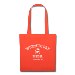 WDS Chalkboard Tote (orange) - Tote Bag