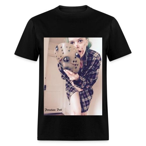 Porcelain Doll murder shirt - Men's T-Shirt
