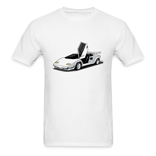 Lamborghini Countach - Men's T-Shirt