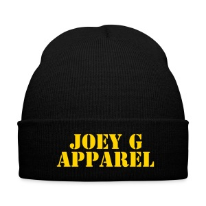 Joey G Apparel Winter Hat - Knit Cap with Cuff Print