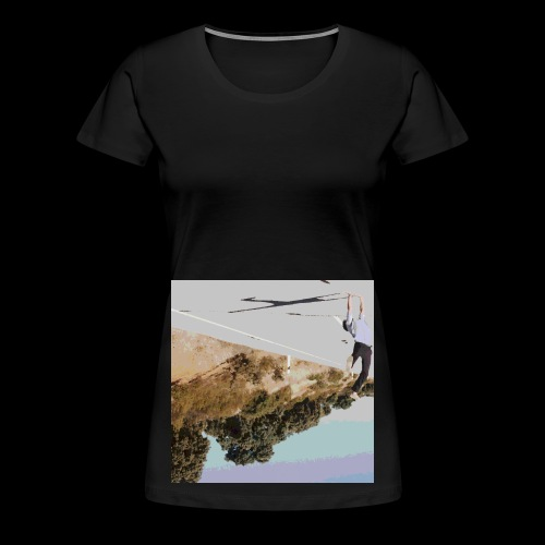 Wrong-side Up - Women's Premium T-Shirt