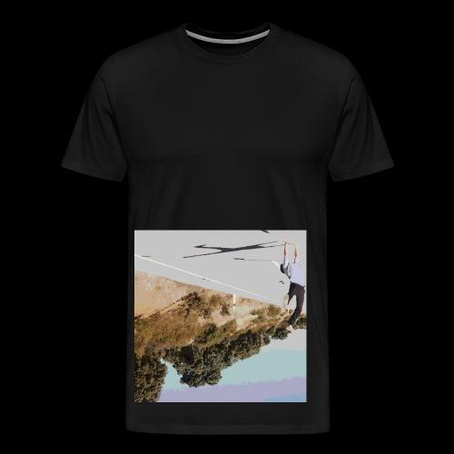Wrong-side Up - Men's Premium T-Shirt