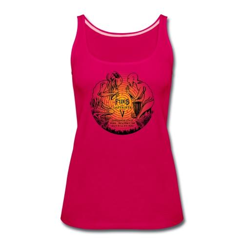 Full Color Pun's Tank Top - Women's - Women's Premium Tank Top