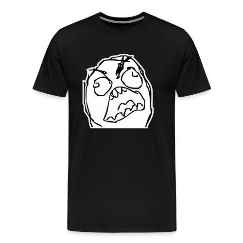 Angry Troll Shirt - Men's Premium T-Shirt
