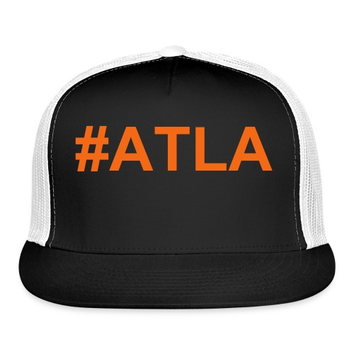 ATLA Baseball Cap Orange - Trucker Cap
