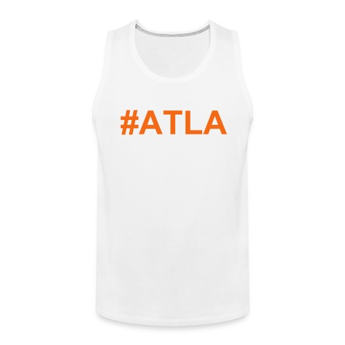 Men's ATLA White Tank Top - Men's Premium Tank