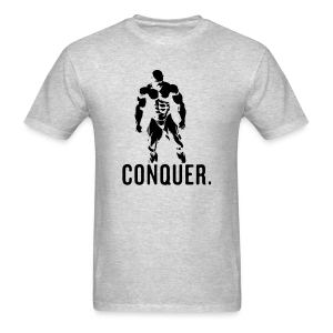 conquer grey black