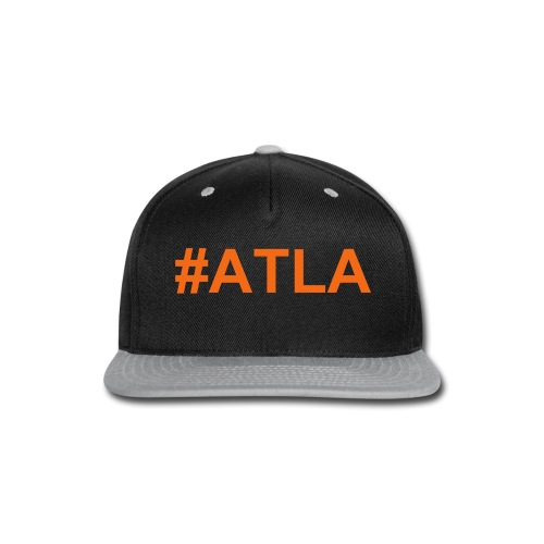 ATLA Cap Orange - Snap-back Baseball Cap