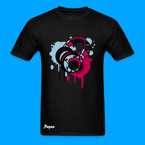 Headphone Shirt - Men's T-Shirt