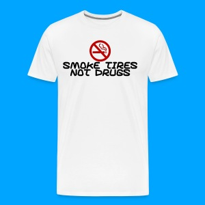 Smoke Tyres Shirt - Men's Premium T-Shirt