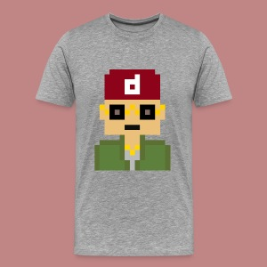 Pixel Art T-shirt - Men's Premium T-Shirt