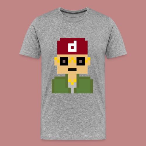 Pixel Art T-shirt - Men's Premium T-Shirt