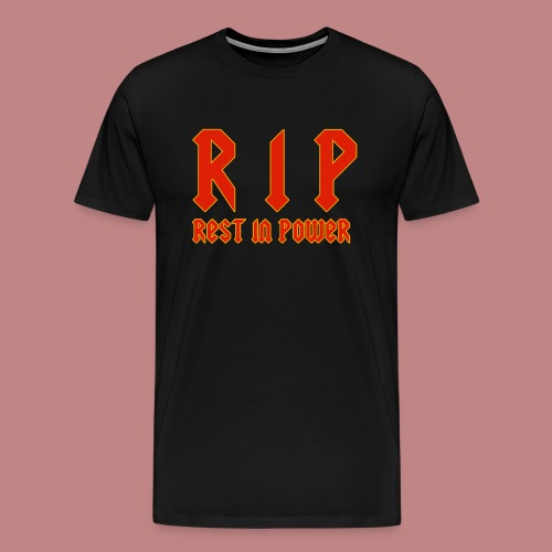 Rest In Power T-shirt - Men's Premium T-Shirt